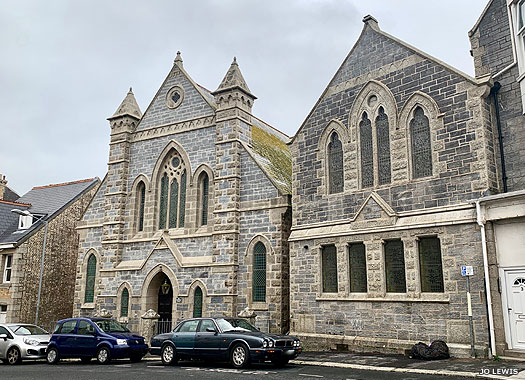Newquay (United) Methodist Church, Cornwall