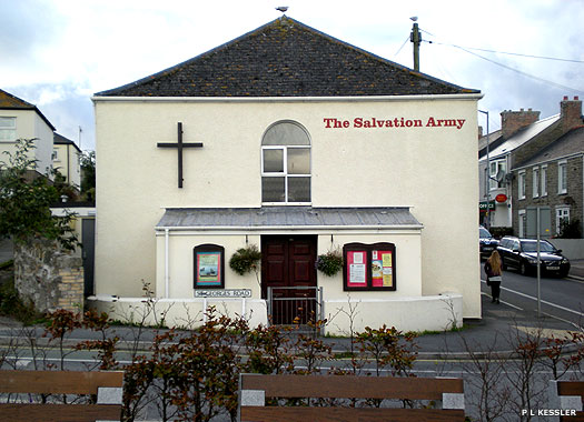 Salvation Army, Newquay, Cornwall