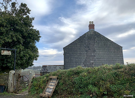 St Peter's Old Chapel, Poldew, Cornwall