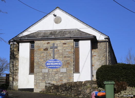 Polgooth Methodist Church, Cornwall