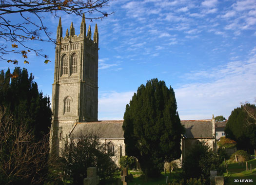 St Probus & St Grace's Church, Cornwall