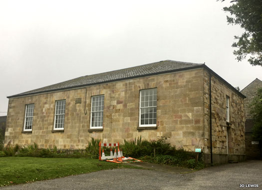 Friends Meeting House (Quakers), St Austell, Cornwall