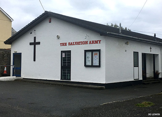 Salvation Army Chapel, St Austell, Cornwall