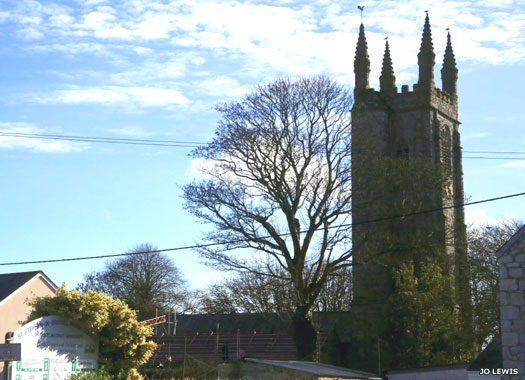 St Stephen's Church, St Stephen-in-Brannel, Cornwall