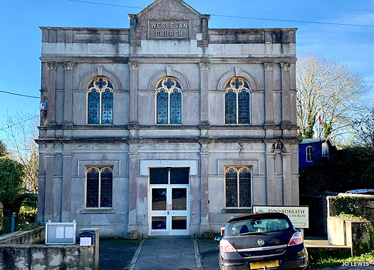 Tywardreath Wesleyan Methodist Chapel, Cornwall
