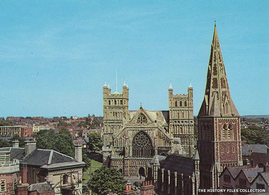 The Church of St Mary Major, Cathedral Yard, Exeter, Devon