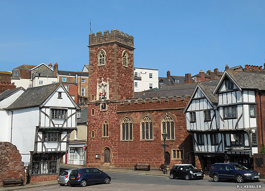 Church of St Mary Steps, Exeter, Devon
