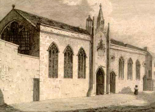 St John's Hospital & Chapel, Exeter, Devon
