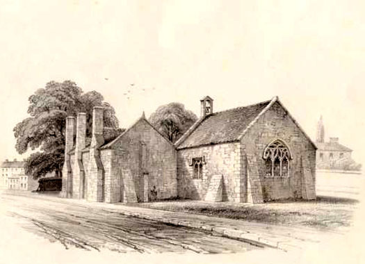 St Clare's Chapel, Livery Dole, Heavitree, Exeter, Devon