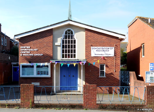 Exeter Spiritualist Centre & Healing Group, Sidwell, Exeter, Devon