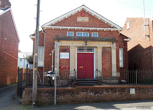 Wonford Baptist Chapel, South Wonford, Exeter, Devon