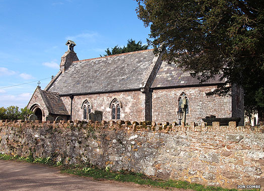 Church of St Mary the Virgin, Huxham, Devon