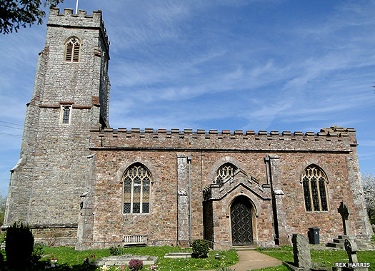 Church of St Mary Magdalene, Stoke Canon, Devon
