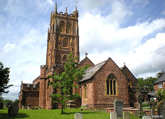 The Parish Church of St Mary the Virgin, Bishops Lydeard, Somerset