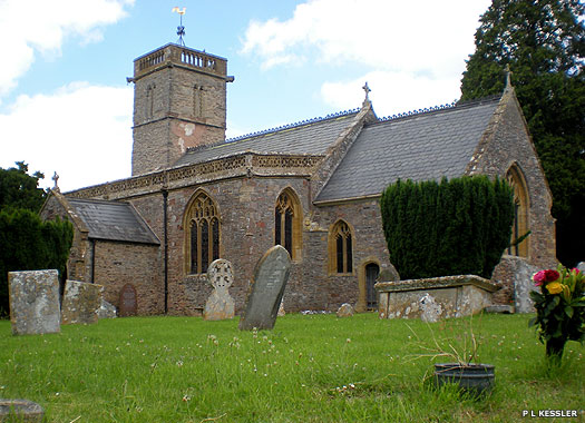 The Parish Church of the Blessed Virgin Mary, Cheddon Fitzpaine, Somerset