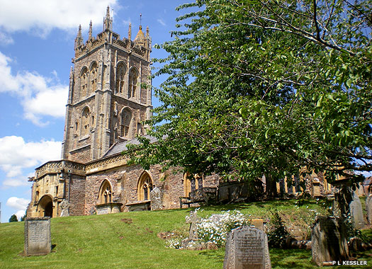 The Parish Church of St Mary the Virgin, Kingston St Mary, Somerset
