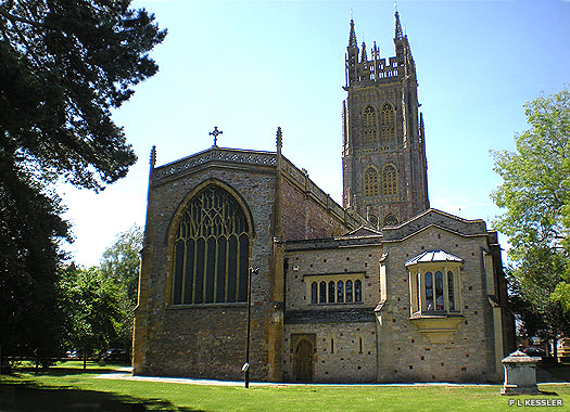 St Mary Magdalene Church, Taunton, Somerset