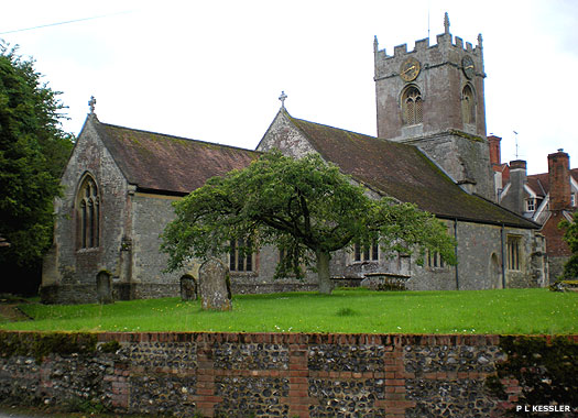 The Church of the Holy Cross, Wilcot, Wiltshire