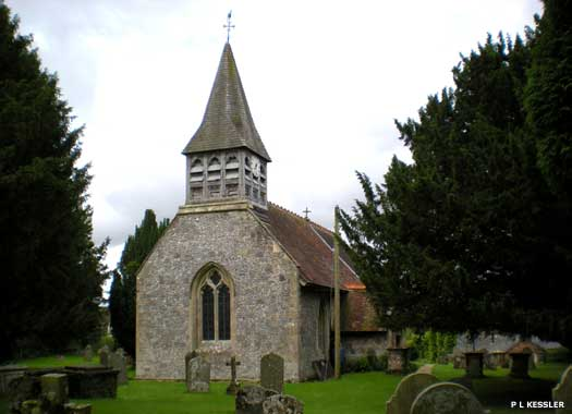 St Andrew's Church, Wootton Rivers, Wiltshire