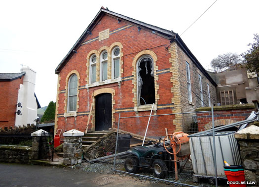 Sion Chapel (Welsh Baptist), Llanfyllin, Powys, Wales
