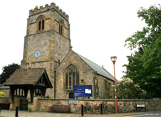 St Mary's Church, Chirk, Wrexham, Wales