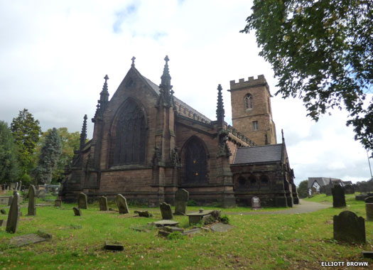 St Mary's Parish Church, Handsworth, Birmingham