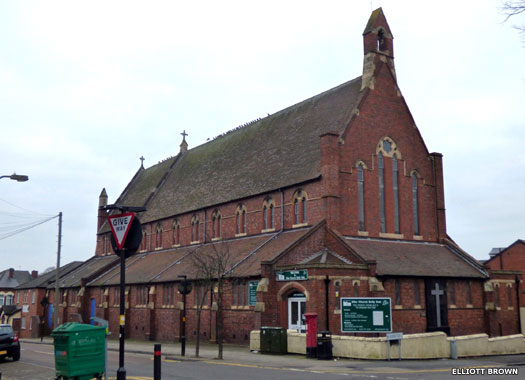 St Wulstan's Church, Bournbrook, Birmingham