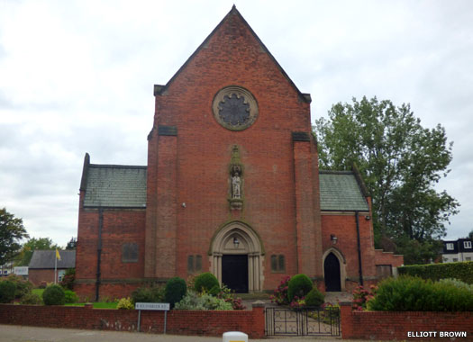 St Edward's Roman Catholic Church, Selly Oak, Birmingham