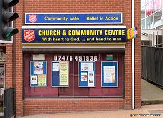 Bedworth Salvation Army Corps Hall, Warwickshire