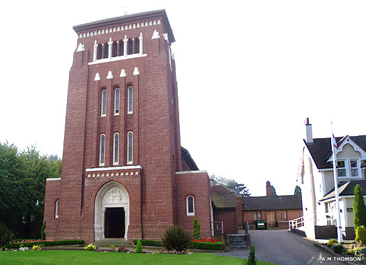 Catholic Church of the Holy Trinity, Sutton Coldfield, West Midlands