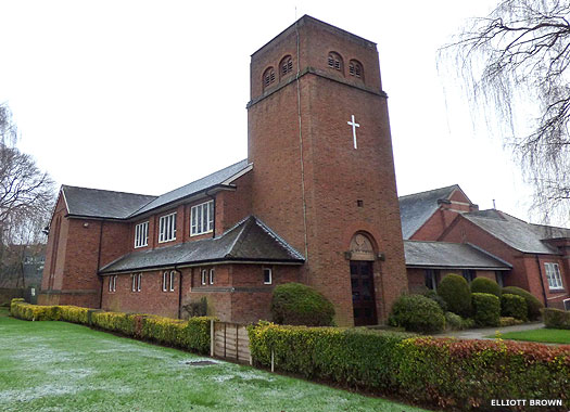 Sutton Coldfield Methodist Church, South Parade, West Midlands