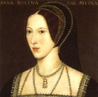 Unknown portrait of Anne Boleyn