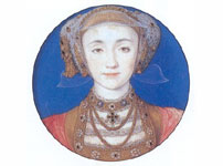 Miniature portrait of Anne of Cleves