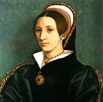 Hans Holbein portrait of Catherine Howard