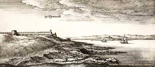 Plymouth Sound during the English Civil War