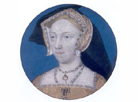 Miniature portrait of Jane Seymour by Lucas Horenbout
