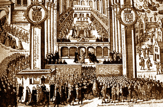 Coronation of James I