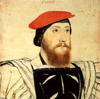 Thomas Boleyn by Holbeing
