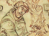 Bede writing
