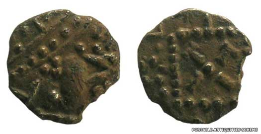 Saxon sceat of Essex