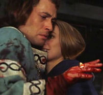 Roman Polanski's MacBeth: MacBath and Lady MacBeth after the murder