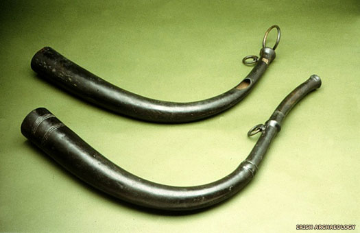 Late Bronze Age horns