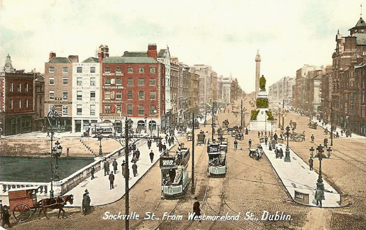 O'Connell Street in Dublin
