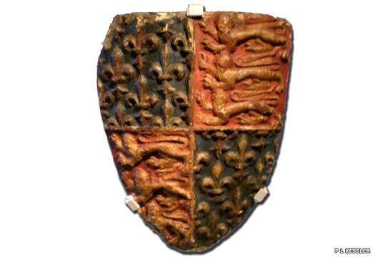 Guildhall stone shield