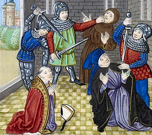 Murders on Tower Hill during the Peasants Revolt
