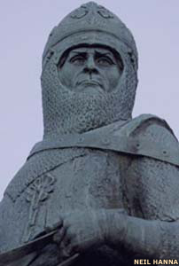 Robert the Bruce inaugurated