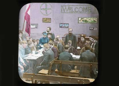 Lantern slide from the Christmas in Paradise collection: University of Bristol Theatre Collection