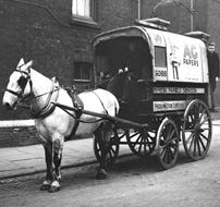 A London horse and cart