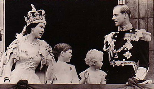 The coronation of Queen Elizabeth II 1953