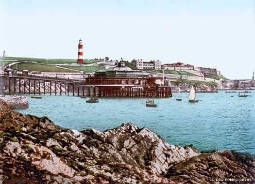 Drake's Island in the twentieth century